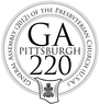 Image of the logo for the 220th General Assembly (2012)