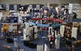 The Exhibit Hall of the 220th General Assembly offers a variety of information and resources.