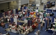 There is something for everyone in the Exhibit Hall at the 220th GA.