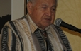 The Rev. Cecil Corbett addressed participants at the Native American Consulting Committee Dinner during GA 220.