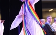 GA 220 opening worship included inspiring liturgical dance.