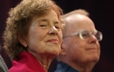 Phyllis and Bryce Little were honored for their service in the Presbyterian mission field during the mission co-worker commissioning service at the 220th General Assembly.