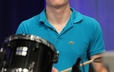 Percussionist Andrew Baumann, of Newlonsburg Presbyterian, provided accompaniment for worship during GA 220.