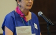 "Sylvia Thorson-Smith's topic at the 220th GA Presbyterian Voices for Justice was ""Re-Imagining 'Re-Imagining' and the next 20 Years."""