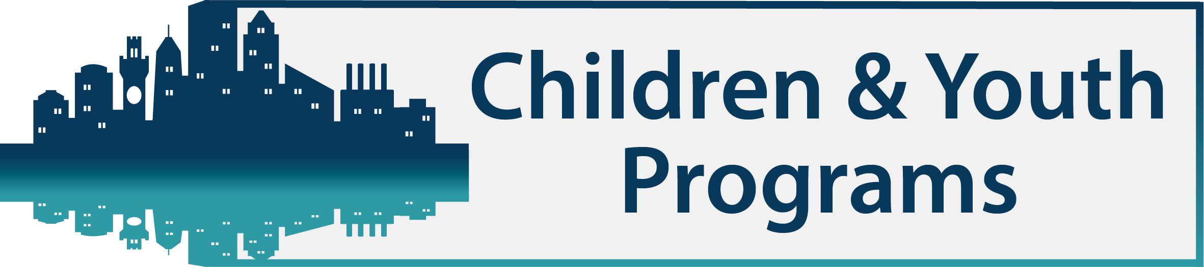 Big Tent Banner - Children and Youth Programs