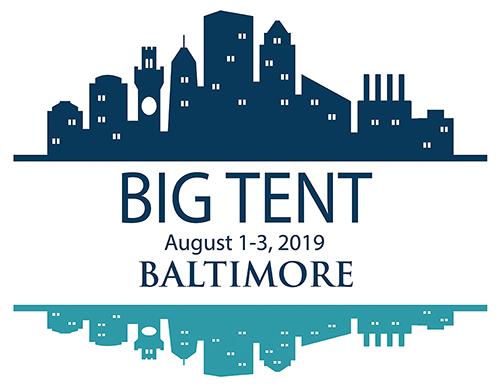 Usa Large Wall Map, Big Tent 2019 Logo, Usa Large Wall Map