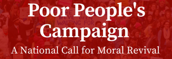 New Poor People Campaign Banner