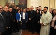 J Herbert Nelson and other faith leaders meet with President Juan Manuel Santos in Bogotá, Colombia to discuss the proposed peace accord between the government and the FARC.