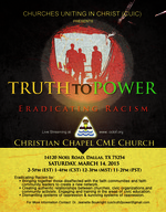 Truth to Power event flyer