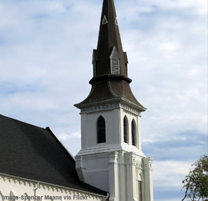 Emanuel African Methodist Episcopal (AME) Church (Mother Emanuel) in Charleston, South Carolina