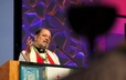 Bishop Mark McDonald preaches at the Ecumenical Service of Worship and Holy Communion.