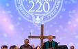 Celebration of the Lord's Supper at the 220th GA ecumenical worship service.