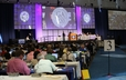Commissioners to the 220th GA participate in the opening plenary on Saturday afternoon.
